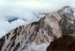 白馬三山・杓子岳