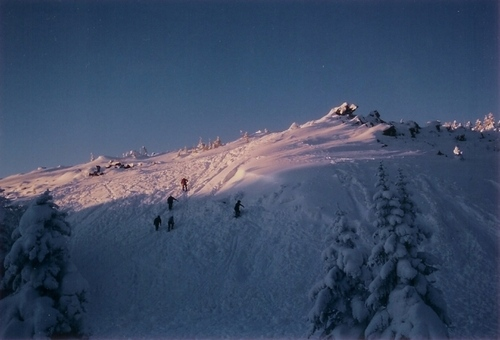 厳冬期八ヶ岳